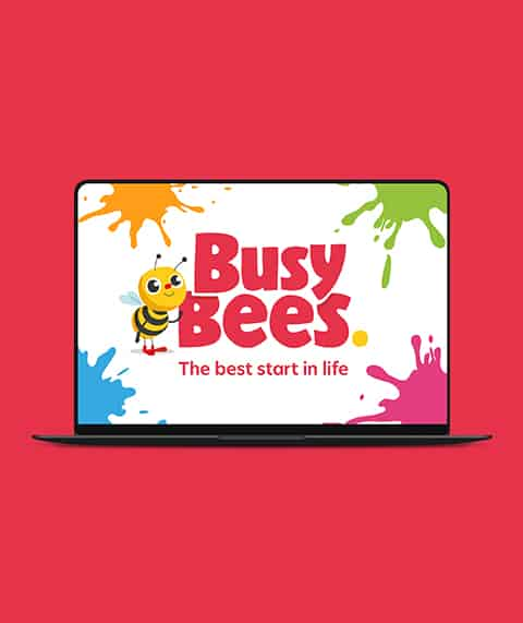 Busy Bees Motion Graphic
