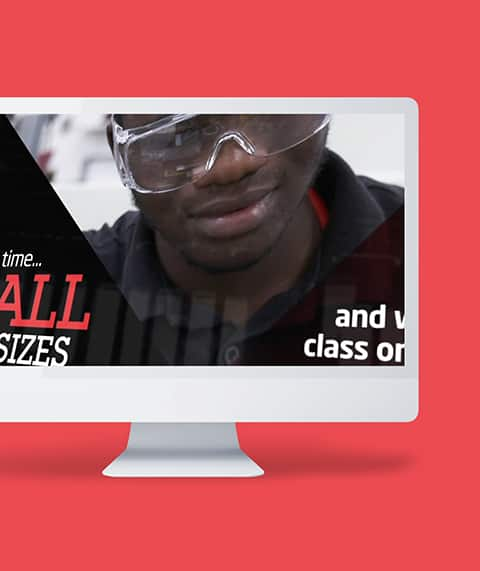 Walsall College Motion Graphic
