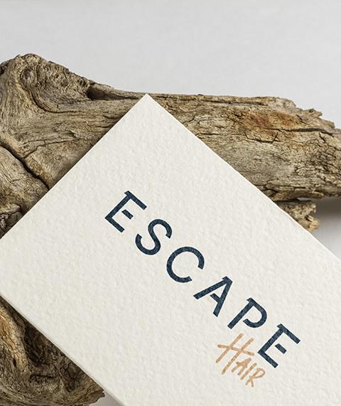 Escape Hair Branding and Logo Design