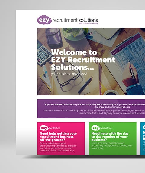 Ezy Recruitment Web Design