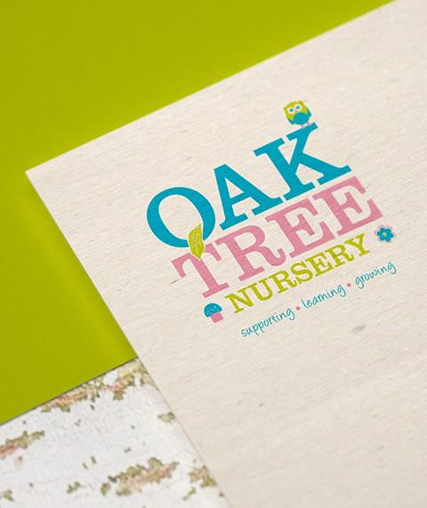 OakTree Nursery Branding and Logo Design